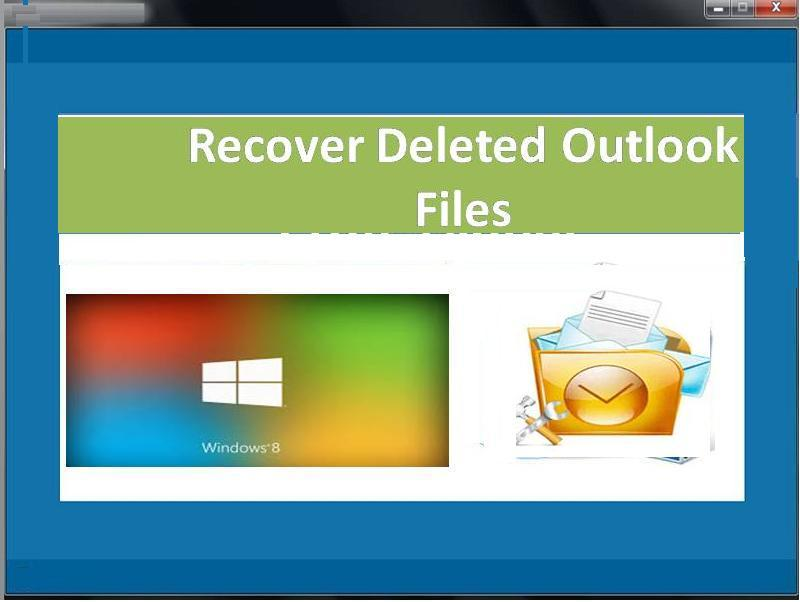 Finest tool to recover deleted outlook files